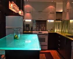 glass top kitchen island glass top island houzz