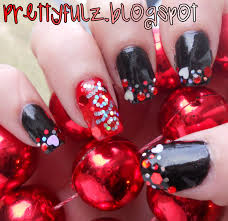 valentine nails design nail art