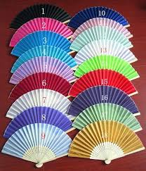 custom fans fan favors wedding personalized pink silk fans personalized