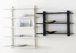 Wood Wall Mounted Shelving Ikea Ladder Shelving Zamp Co