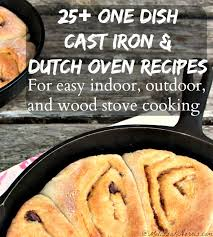 25 cast iron u0026 dutch oven recipes melissa k norris