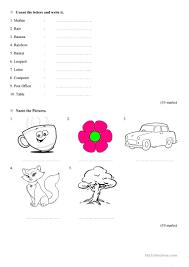 grade 1 english worksheet by tharahai institution worksheet free