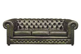 canape chesterfield vintage chesterfield 3 seat sofa antique green
