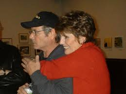 desi and his sister lucie arnaz after performing a tribute to