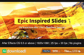 epic inspired slides videohive free download free after