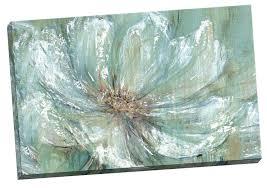 amazon com portfolio canvas decor teal splash by carson large