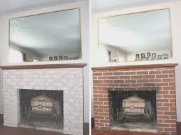 fireplace brick fireplace tile artistic color decor marvelous