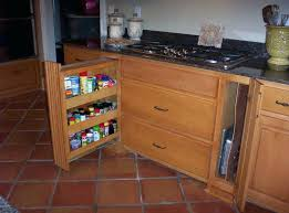 Pull Out Spice Rack Cabinet by Pull Out Spice Rack Pullout Spice Rack With Decorative Leg Upper