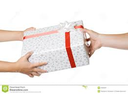 gift exchange stock images image 3335994