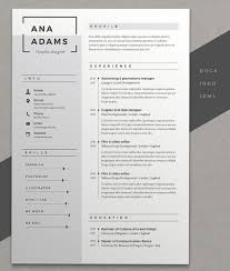 resume doc format 12 professional resume templates in word format xdesigns