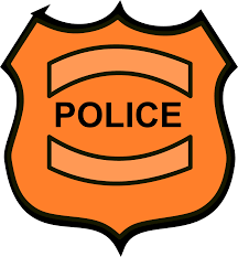 clipart police badge