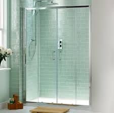 glass shower sliding doors bathroom dazzling sliding shower door design with small wooden