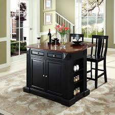 black kitchen island with stools amazing kitchen islands with breakfast bar and stools which you