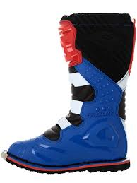 motocross boots oneal blue red white 2018 rider eu mx boot oneal
