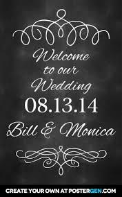 wedding chalkboard chalkboard wedding welcome sign postergen