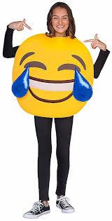 emoji costume laughing emoji costumes from spirit