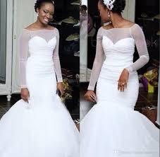 illusion bodice wedding dresses 2017 sheer long sleeve