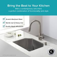 Best Gauge For Kitchen Sink by Stainless Steel Kitchen Sinks Kraususa Com