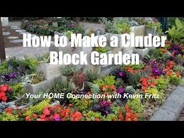 how to make privacy cinder block garden wall kevin fritz mlo