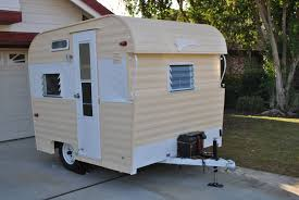1964 fireball 8 foot travel trailer paint exterior 1964 8 foot