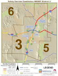 Albuquerque Map Multi Year Maps Gps Traffic Research Unit The University Of
