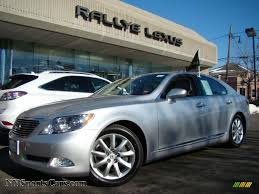 lexus ls 460 cars for sale 2007 lexus ls 460 in mercury metallic 033464 nysportscars com