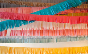 tissue paper streamers crepe paper crafts party ideas crepe paper crafts