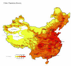 Population Map China Population Map 2011 2012 Population Density Maps China