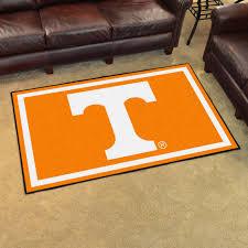 Area Rug 4 X 6 Of Tennessee Volunteers Area Rug 4â X 6â