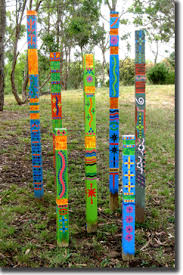 Garden Art To Make - garden totems i would bet these would be easy to make some 2 x