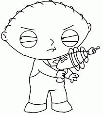 stewie family guy coloring pages coloring home