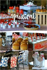 nautical baby shower ideas nautical themed boy baby shower spaceships and laser beams