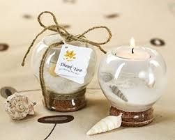 Kate Aspen Wedding Favors by Sand And Shell Tealight Holder Wedding Favors By Kate Aspen