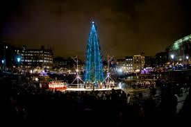 christmas in trafalgar square london city hall