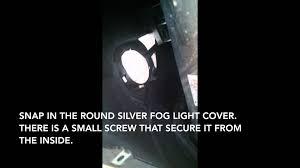 nissan frontier fog light kit install 2014 nissan pathfinder fog lights youtube