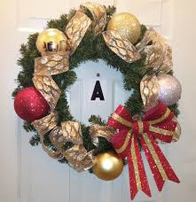 Homemade Christmas Wreaths by Giant Outdoor Christmas Ornaments Diy Diy Christmas Decorations