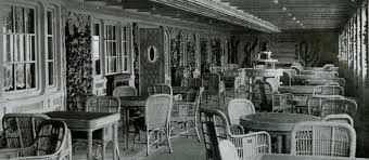 Titanic 1st Class Dining Room Who Ate What On Board Titanic Example Menus From All Classes