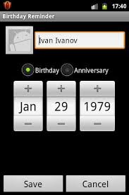 add reminder in android birthday reminder android apps on play