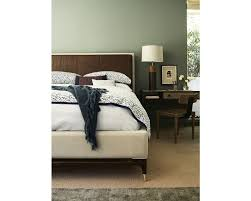 Thomasville Mahogany Collection Bedroom by Leather And Fabric Meet Up On The Ed Ellen Degeneres By