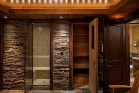 united states rustic interior design classic bathroom with shower