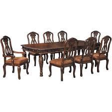 north shore 9 piece dining set d553 9pc ashley furniture afw