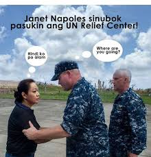 Napoles Meme - meme of the day janet napoles at un relief center coconuts manila
