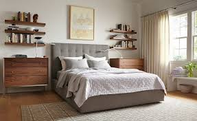 Room And Board Bedroom Furniture How To Use Floating Wall Shelves Room U0026 Board