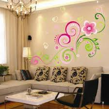 compare prices on office wall murals online shopping buy low multicolor diy wall mural decal wall stickers flowers home office wall sticker decor vinyl art