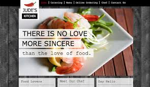 chef de cuisine catering services catering chef website templates restaurants food wix