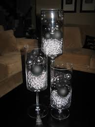 furniture design black and silver christmas decorations