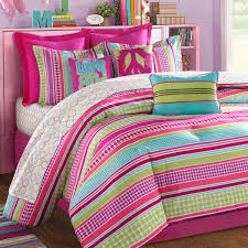 Pink And Lime Green Bedroom - trendy teen girls bedding ideas with a contemporary vibe
