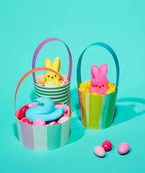 peeps basket peeps like you ve never seen them before real simple