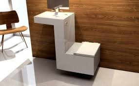 Toilets For Small Bathroom 32 Stylish Toilet Sink Combos For Small Bathrooms Digsdigs