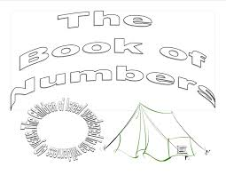 book of numbers sunday coloring pages sunday